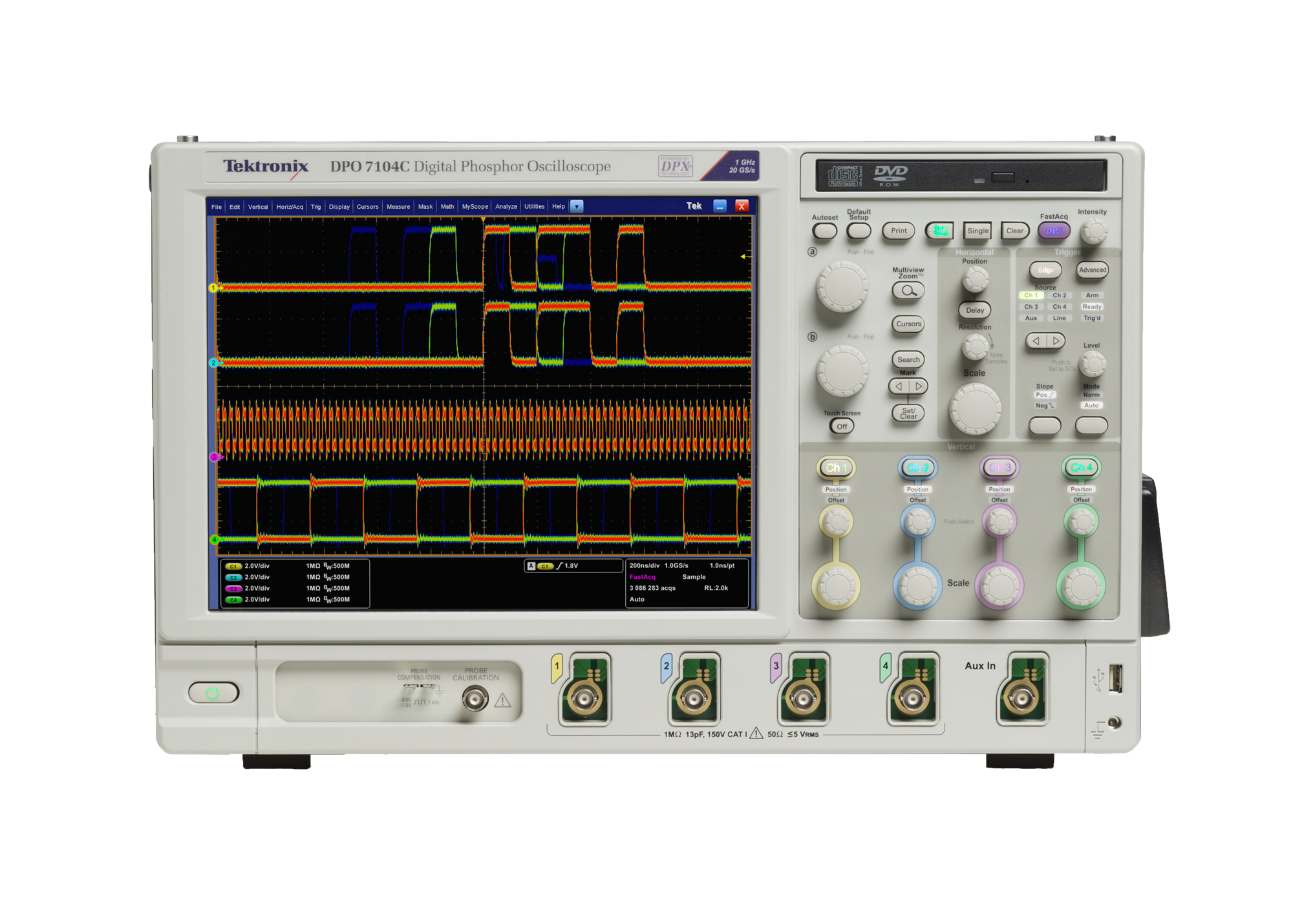 Tektronix DPO7000C Series Digital Phosphor Oscilloscope