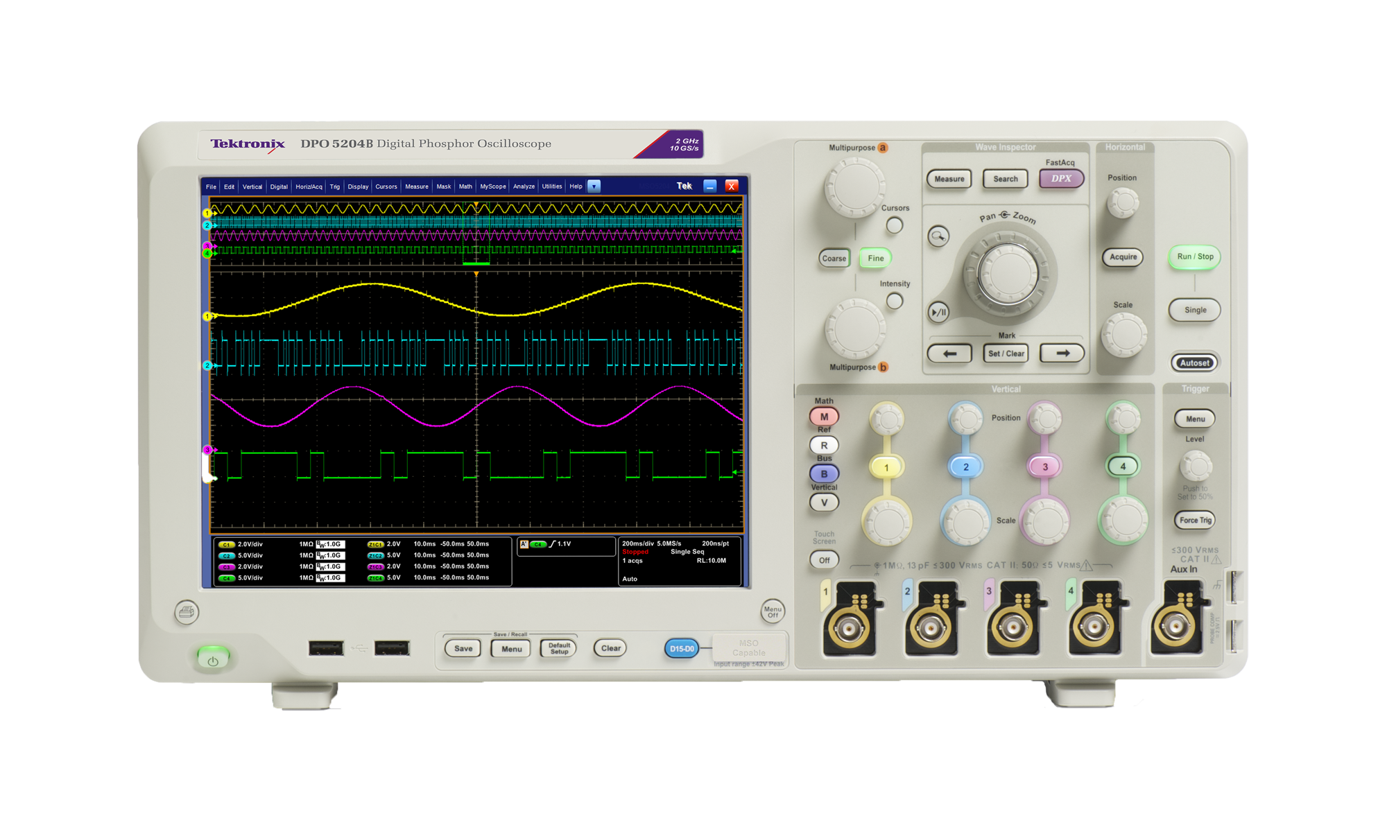 Tektronix DPO/MSO5000B Mixed Signal Oscilloscope